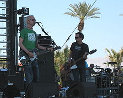 La band al Coachella Valley Music and Arts Festival 2007.
