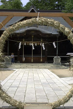 Matsumoto, Nagano - Image: Four Pillars Shrine