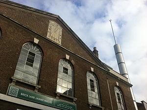Fournier Street -  The Jamme Masjid, Eastern Corner