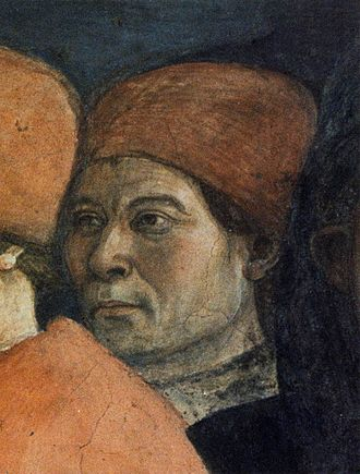 Carlo de' Medici - Depiction of Carlo in Filippo Lippi's Funeral of St. Stephen