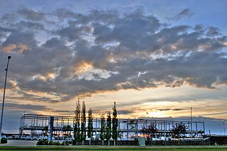Industrial park area for development of industry