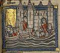 Français 2824, fol. 181, Arrivée des croisés à Venise.jpeg