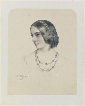 Frances Jocelyn, Viscountess Jocelyn - Lithograph of Viscountess Jocelyn, c. 1849
