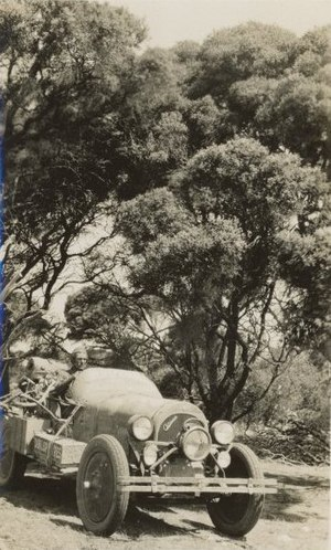 Francis Birtles - Birtle's Oldsmobile 30 used for the Darwin to Adelaide overland speed record trip 1924