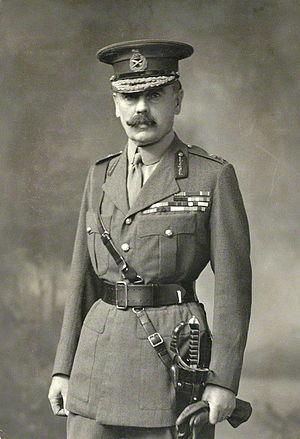 Francis Lloyd (British Army officer) - Lieutenant General Sir Francis Lloyd in October 1918