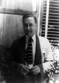 Photo de F. Scott Fitzgerald