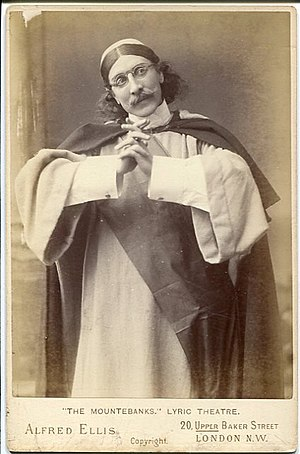 The Mountebanks - Frank Wyatt as Arrostino (1892)