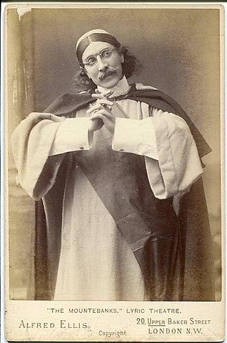 The Mountebanks - Frank Wyatt as Arrostino (1892)