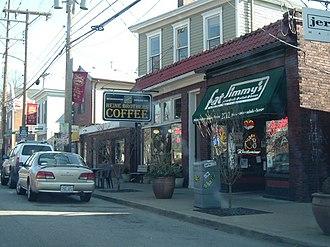 Crescent Hill, Louisville - Frankfort Avenue in Crescent Hill