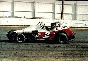 Frankie Schneider - Image: Frankie Schneider 2racecar Early 1980s