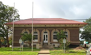 National Register of Historic Places listings in Robertson County, Texas - Image: Franklin carnegie library