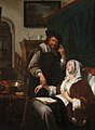 Frans van Mieris (I) - A Sick Woman and Her Doctor GL GM 108.jpg