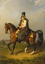 Equestrian Portrait of Franz I (1768-1835)