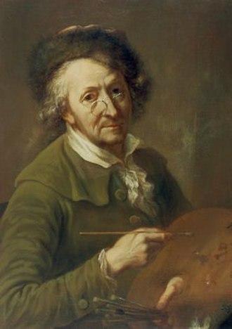 Franz Ignaz Oefele - Self-portrait (1791)