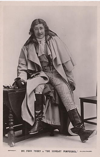 Fred Terry - In The Scarlet Pimpernel, 1905