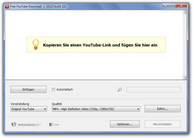 free youtube download 3.0.22