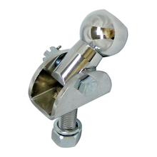 This is an image of an anti-binding motorcycle trailer hitch assembly - pivot ball hitch (US Patent 7,988,178).