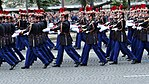 French Republican Guard during the Military parade for Bastille Day, 2016.jpg