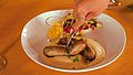 French sausages in a french restaurant siem reap.jpg