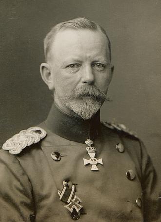 Friedrich Sixt von Armin - General Sixt von Armin in 1916.