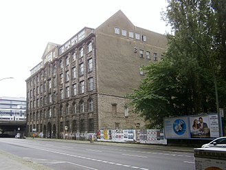 Julius Pintsch - Former Pintsch factory building on Andreasstrasse