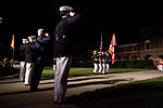 From left, U.S. Marine Corps Col. Christian Cabaniss, the commanding officer of Marine Barracks Washington; Gen. James F. Amos, the commandant of the Marine Corps and the host of the Evening Parade 130531-M-KS211-345.jpg