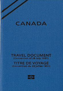 Canadian Refugee Travel Document Visa Free Countries