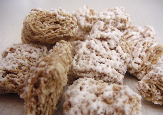 Frosted Mini-Wheats breakfast cereal manufactured by Kelloggs