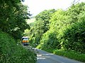 Fuel lorry ascending Stapleton Hill - geograph.org.uk - 870484.jpg