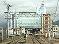 Fujiyoshida Station-Platform-20101024.jpg