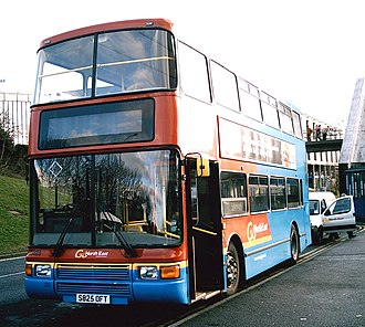 Northern Counties Palatine - Image: GNE Palatine II bus