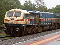 GTY based WDG-4 locos with Freight Tanker at Malkajgiri 01.JPG