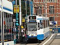 GVB 10G 805 (Amsterdam tram) on route 4, September 2010.jpg