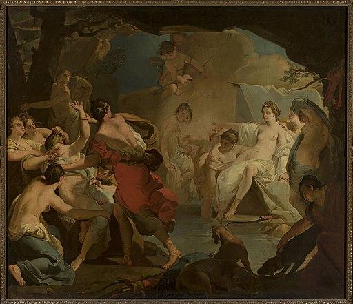 Gaetano Gandolfi - Diana's judgement of the nymph Callisto - M.Ob.2701 MNW - National Museum in Warsaw