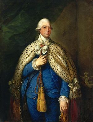 King George III, 1785in his parliamentary robes