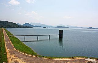 Gal Oya Dam Dam in Gal Oya National Park