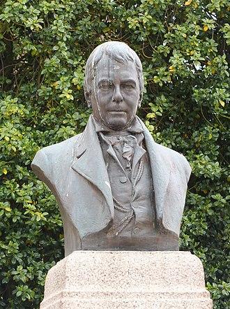Thomas J Clapperton - Galashiels Monument to Sir Walter Scott
