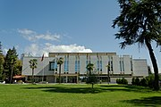 Galeria Kombëtare e Arteve në Tiranë. Galleria Nazionale delle Arti a Tirana. National Arts Gallery in Tirana. Foto by Dritan Mardodaj..jpg