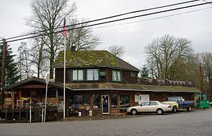 Gales Creek, Oregon - Gales Creek Store and Post Office