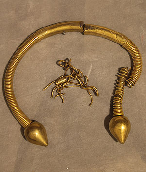 Ourense Torcs - Image: Galician celtic torc