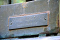 Galvanoplastische Kunstanstalt (Württembergische Metallwarenfabrik, WMF) am Fuß des Engels nach Adolf Lehnert, Tafel am Grab von Georg Hassler und Auguste Nöckel.jpg