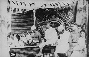 Bardoli Satyagraha - Gandhi with Sardar Patel (Bardoli Satyagraha) in 1928.