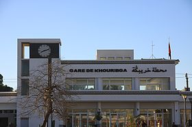 image illustrative de l'article Gare de Khouribga