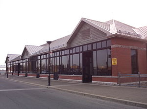 Dalhousie Station (Montreal) - Dalhousie Station in 2006.