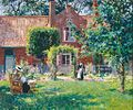 Gari Melchers - The unpretentious Garden.jpg