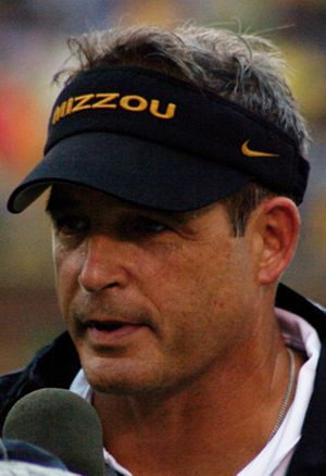 Gary Pinkel - Pinkel in September 2008
