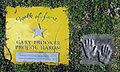 Gary Brooker Procol Harum auf dem Walk of fame im Kurpark von Bad Krozingen.jpg