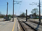 Gary Chicago Airport at Clark Road station (26619116566).jpg