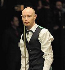 Gary Wilson at Snooker German Masters (Martin Rulsch) 2014-01-30 01.jpg