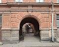 Gate to the courtyard on Novaya Zastava street, Vyborg.jpg